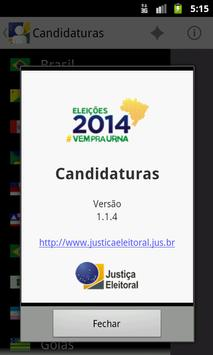 Candidaturas 2014 screenshot 7