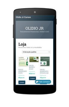 Olídio Jr Cursos poster