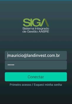SIGA - Sistema AABRE apk screenshot