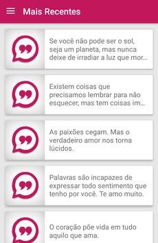 Mensagens de Amor screenshot 1