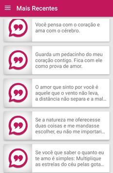 Mensagens de Amor screenshot 2
