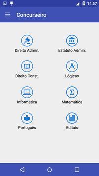 Concursos e Questões apk screenshot