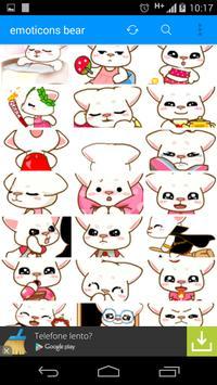emoticons bear full screenshot 5