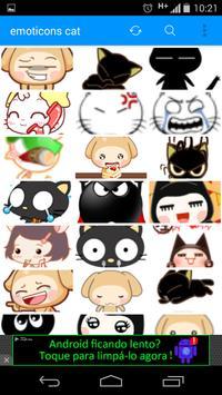 emoticons cat full poster