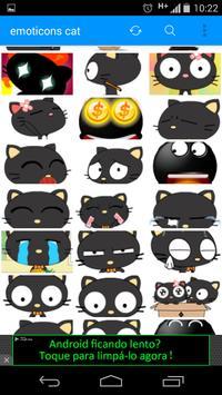 emoticons cat full apk screenshot