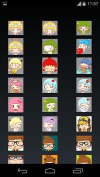 Princess emoji apk screenshot