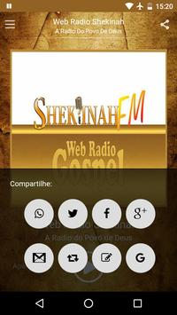 Webadio Shekinah Bertioga apk screenshot