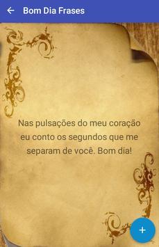Bom Dia Frases poster
