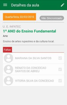 Diário do Professor Digital ON&OFF apk screenshot