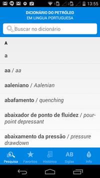 Dicionário do Petróleo apk screenshot
