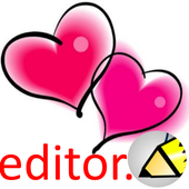 love photo editor icon