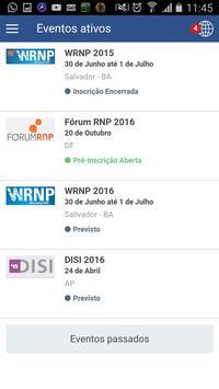 Eventos da RNP screenshot 1