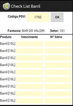 Check List Barril - ReGra screenshot 2