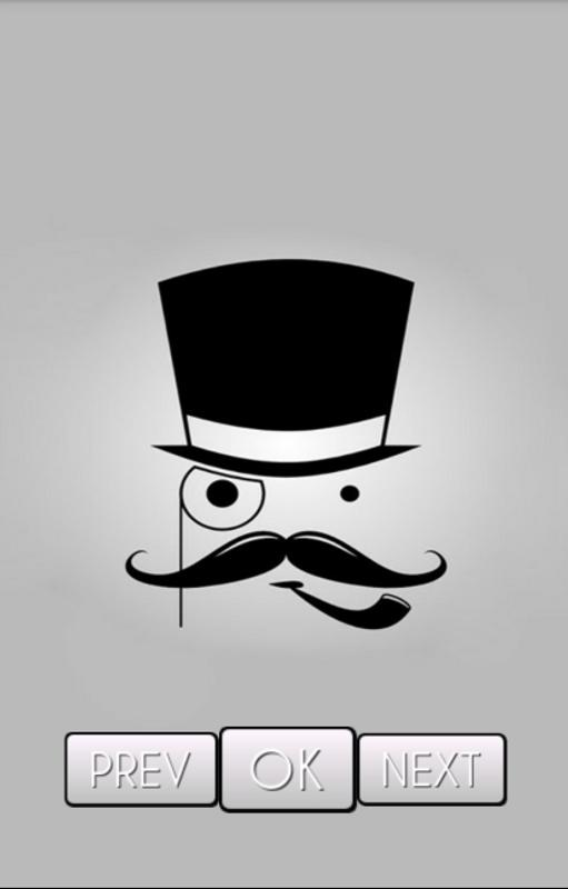 Mustache Wallpaper HD Apk Screenshot