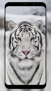 White Tiger Wallpaper screenshot 1