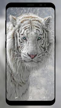 White Tiger Wallpaper screenshot 2
