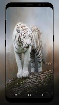 White Tiger Wallpaper screenshot 5