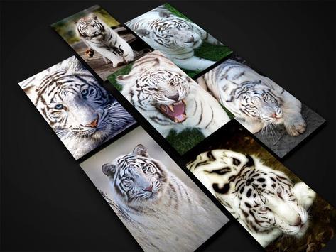 White Tiger Wallpaper screenshot 8