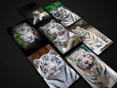 White Tiger Wallpaper screenshot 9