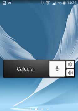 Voice Calculator Widget poster