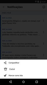 UOL - Notícias em Tempo Real apk screenshot