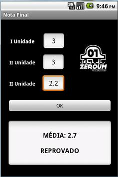 Média Final UESB apk screenshot