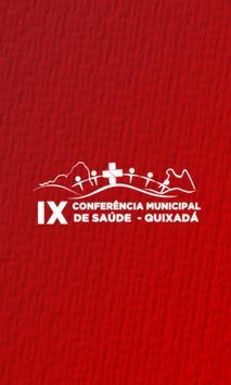 IX Conferência Municipal de Saúde de Quixadá poster