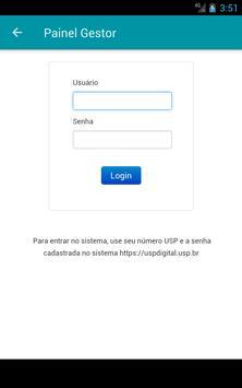 Painel Gestor USP apk screenshot