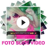 Vídeo Editor Foto Slide Com Música Lindos Slides icon