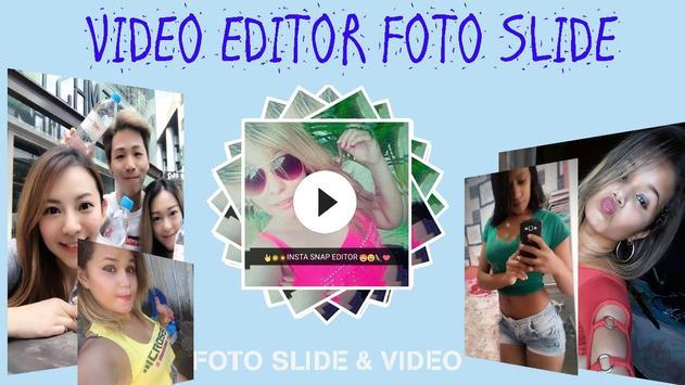 Vídeo Editor Foto Slide Com Música Lindos Slides poster