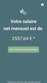 Captain Paye : Convertisseur de salaire Brut ↔ Net screenshot 6