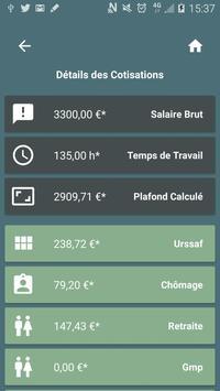 Captain Paye : Convertisseur de salaire Brut ↔ Net screenshot 7