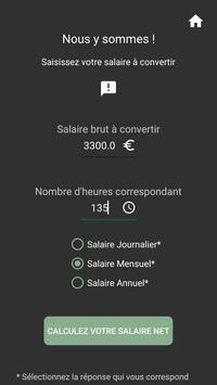 Captain Paye : Convertisseur de salaire Brut ↔ Net screenshot 2