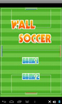 Wall Soccer poster