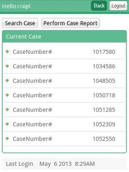CaseTrackLive apk screenshot