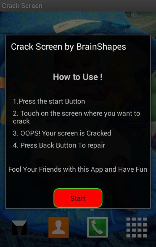 crack your screen apk