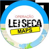 lei seca rj - Leiseca Maps आइकन