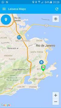 lei seca rj - Leiseca Maps poster