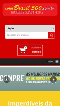 Lojas Brasil 500 apk screenshot