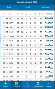 Brasileirão Série A - Estatísticas screenshot 1