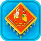 Navratri wishes - Navratri Greetings Card icon