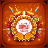 Diwali greetings - greeting card maker icon