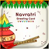 Navratri Greetings card maker - Navratri Greetings icon