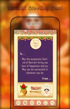 Navratri Greetings card maker - Navratri Greetings poster