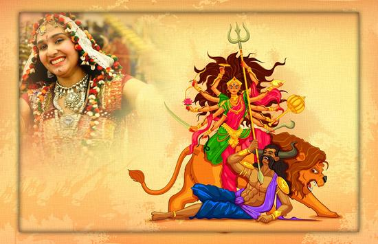 Navratri Photo Frame - Navratri Photo Editor poster