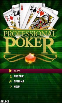 Profesional Poker Lite screenshot 3