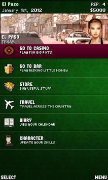 Profesional Poker Lite screenshot 2