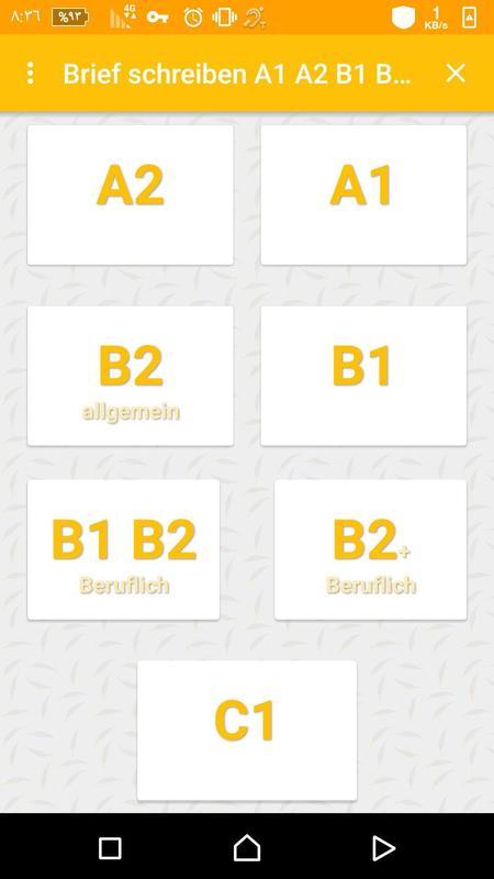 Brief Schreiben A1 A2 B1 B2 C1 Für Android Apk Herunterladen