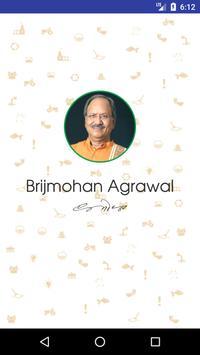 Brijmohan Agrawal poster