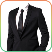 Man Fashion Photo Suit icon